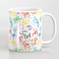 zodiac Mugs featuring Zodiac by holi