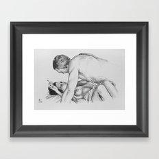 Irréversible Framed Art Print