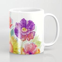 Colorful Watercolor Flowers Coffee Mug
