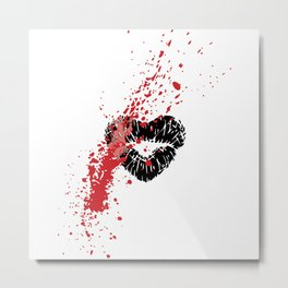 The Beauty of Vanity Metal Print