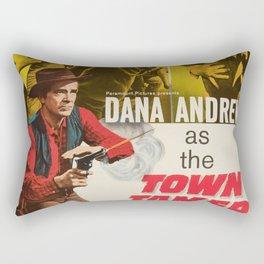 Town Tamer Rectangular Pillow