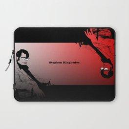 Stephen King Rules Laptop Sleeve