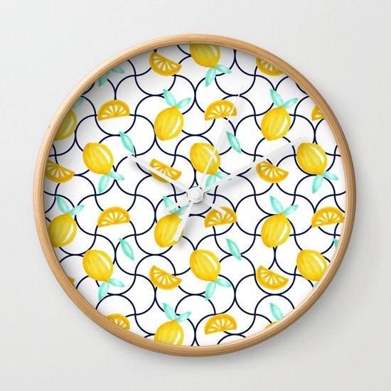 Sicily Society6 Decor Buyart Wall Clock By Designdn