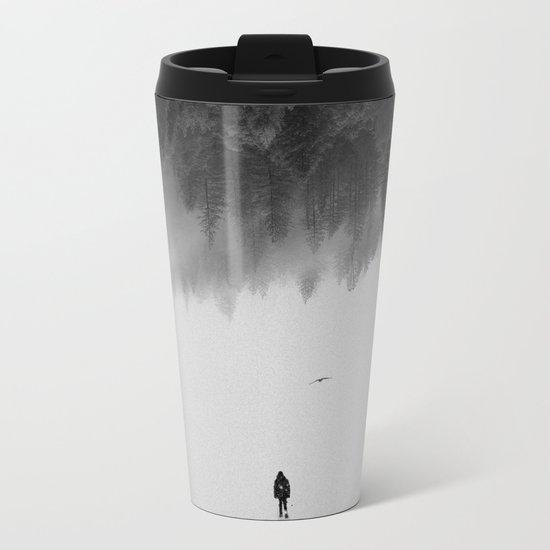 Silent Walk Metal Travel Mug