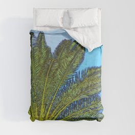 Palm Tree Fronds Comforters