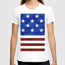 US Flag (Camouflage) T-shirt