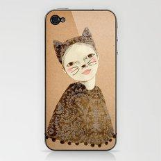 Kiki Kitty iPhone & iPod Skin