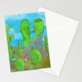 Kissing Cactus Stationery Cards