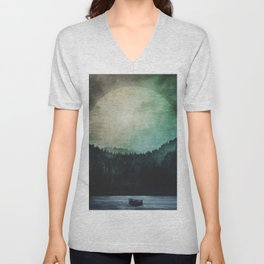 Great mystical wilderness Unisex V-Neck