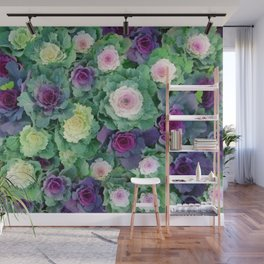 Ornamental kale Wall Mural