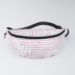 Lilac Bright Tropical Island Fanny Pack