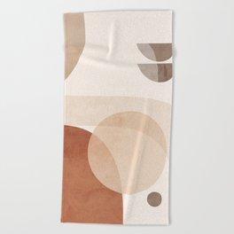 Abstract Minimal Shapes 16 Beach Towel