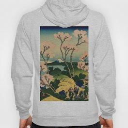 """Hokusai (1760–1849) """"Goten-yama-hill, Shinagawa on the Tōkaidō"""" Hoody"""