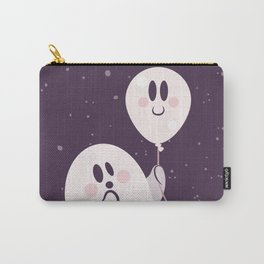 Pink Ghost and Friend Carry-All Pouch