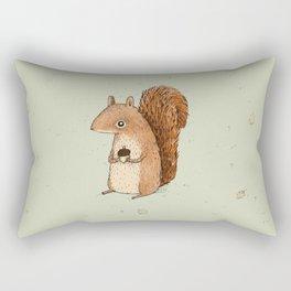 Sarah the Squirrel Rectangular Pillow