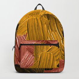 17 | Abstract Expressionism| 210210| Digital Abstract Art Textured Oil Painting Backpack
