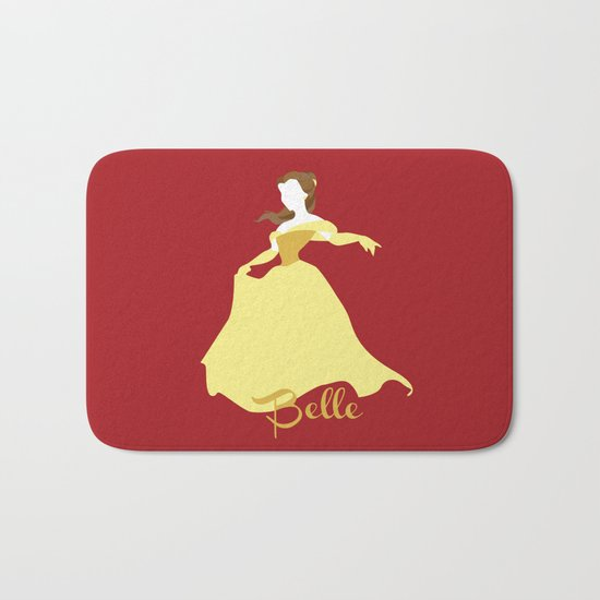 Belle from Beauty and the Beast Disney Bath Mat