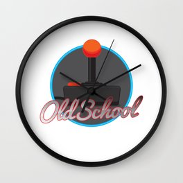 Old School Gamer Wall Clock