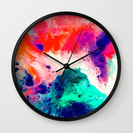 Plunge Wall Clock