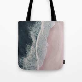Sands of Cameo Pink Tote Bag