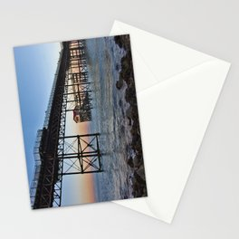 The Boathouse on the Pier. Stationery Cards