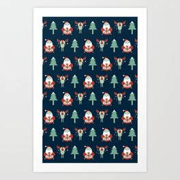 Lovely Christmas Art Print