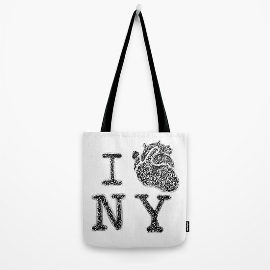 I HEART NEW YORK Tote Bag