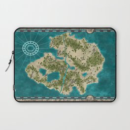 Pirate Adventure Map Laptop Sleeve