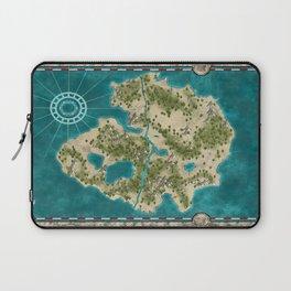 Pirate Adventure Map Laptop Sleeve