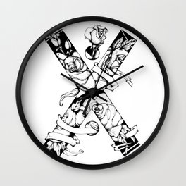 Not all X's are bad Wall Clock