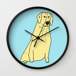 Proud Dog Wall Clock