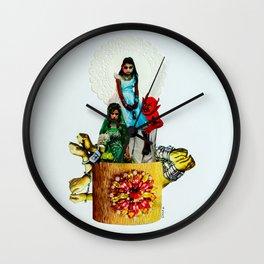 Saints and Devils Wall Clock