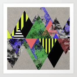 Triangles! Art Print