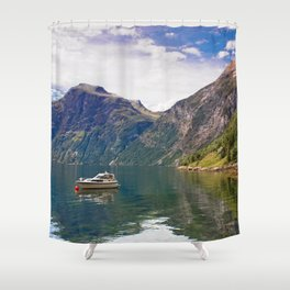 Grande Camping Shower Curtain