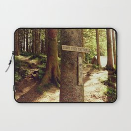 Don't feed the trolls - Norway forest tales - Fine Art Travel Photography Laptop Sleeve