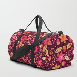 Reach Foliage pattern Duffle Bag