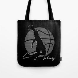 Basketball Player (monochrome) Tote Bag