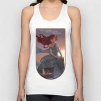 1989 Tank Tops featuring NOUVEAU 1989 by Lettie Bug