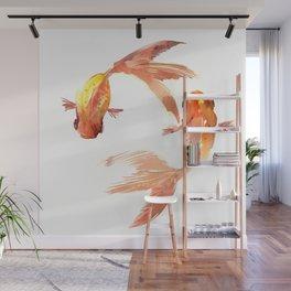 Goldfish Feng Shui, Koi Fish Wall Mural