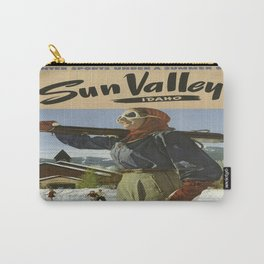 Vintage poster - Sun Valley Carry-All Pouch
