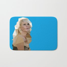 Cyan Blonde Bath Mat