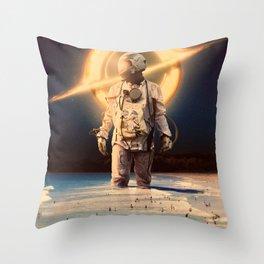 Deep Escape Throw Pillow