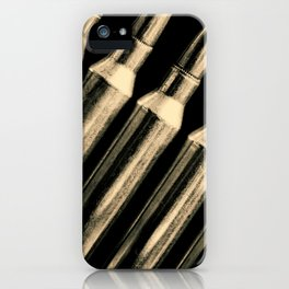 Deadly Lineup iPhone Case