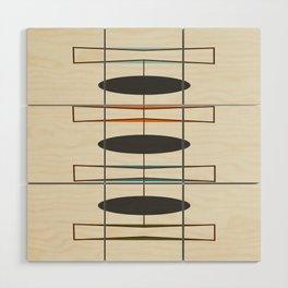 Mid-Century Modern 1.1 Wood Wall Art