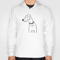 great dane Hoodies featuring great dane by klipface
