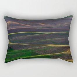 The Palouse Hills at Sunset Rectangular Pillow