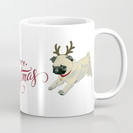 Deer Pug Coffee Mug