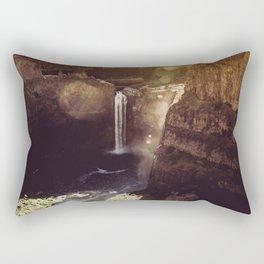 Desert Waterfall Rectangular Pillow