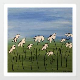 coneflowers Art Print