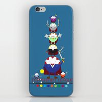 league iPhone & iPod Skins featuring Peppermint League by Carieo's Creation